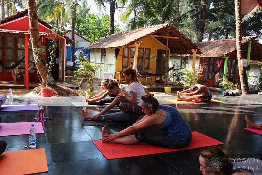 Outdoor Yoga Shala