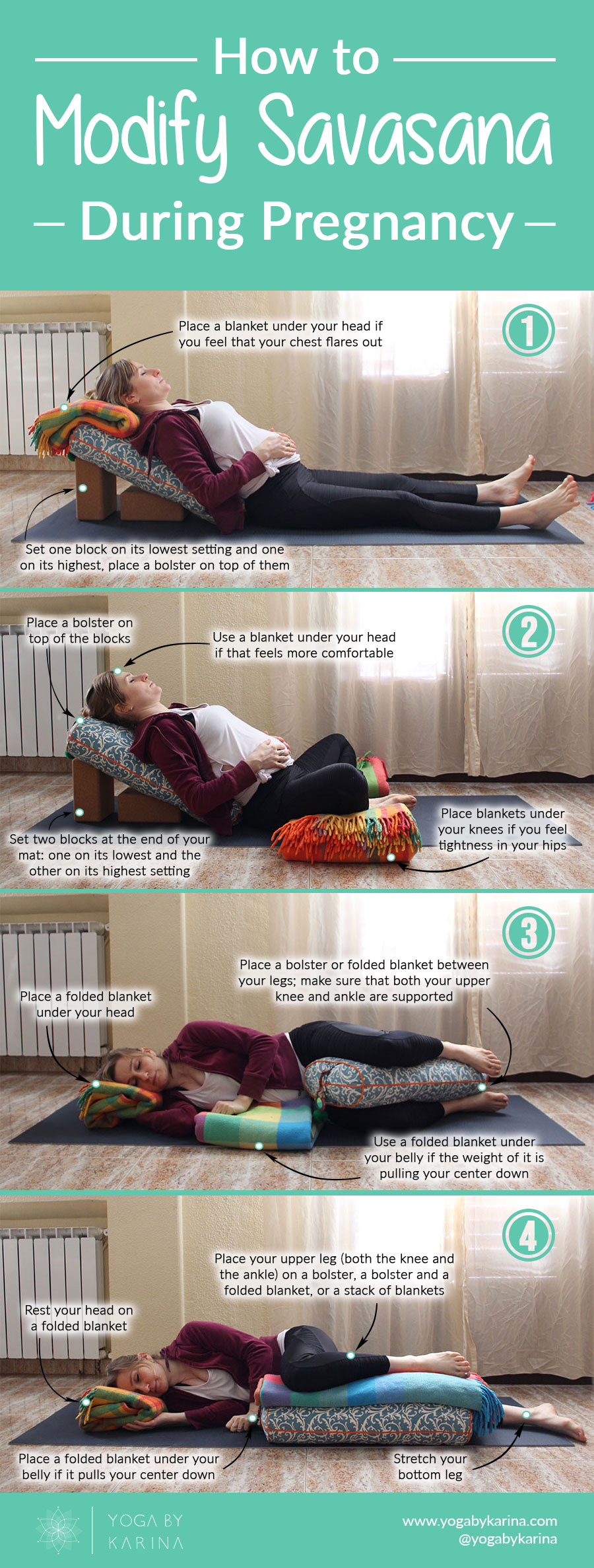 savasana during pregnancy