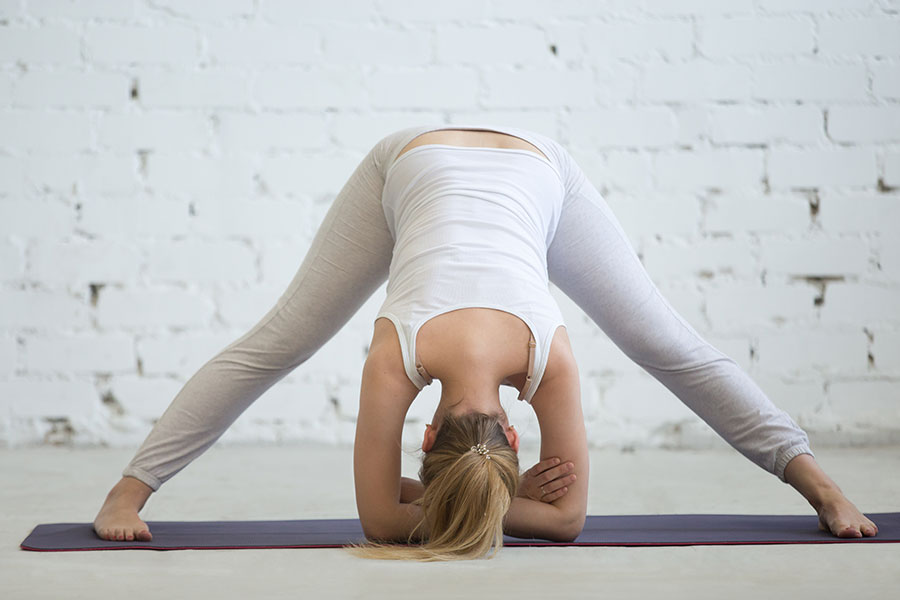 Yoga poses for the third trimester
